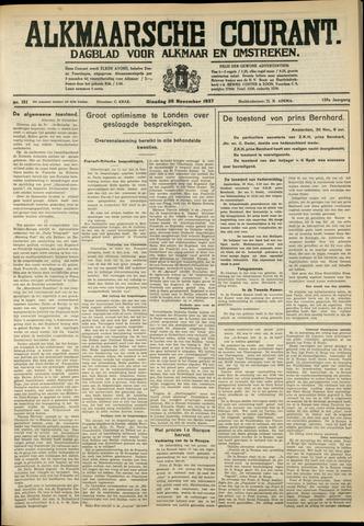 Alkmaarsche Courant 1937-11-30