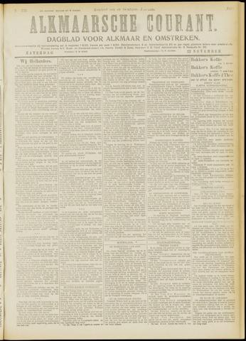 Alkmaarsche Courant 1919-11-22