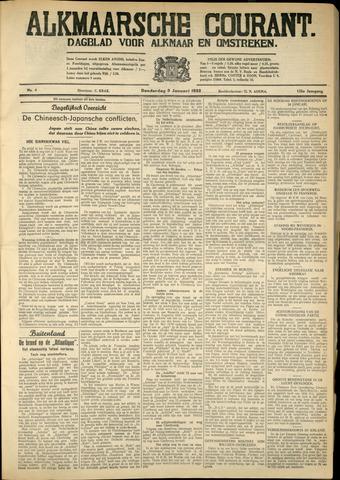 Alkmaarsche Courant 1933-01-05