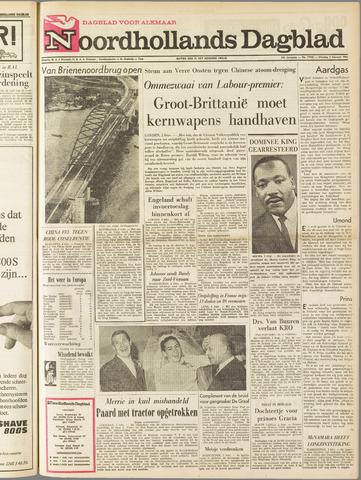 Noordhollands Dagblad : dagblad voor Alkmaar en omgeving 1965-02-02