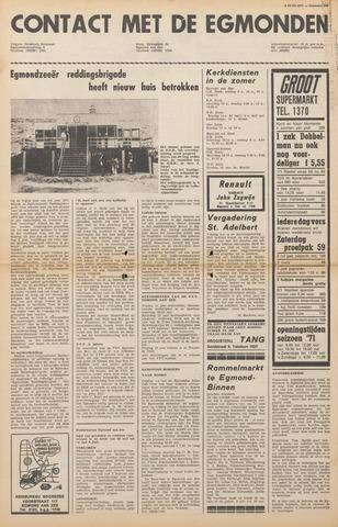 Contact met de Egmonden 1971-06-09