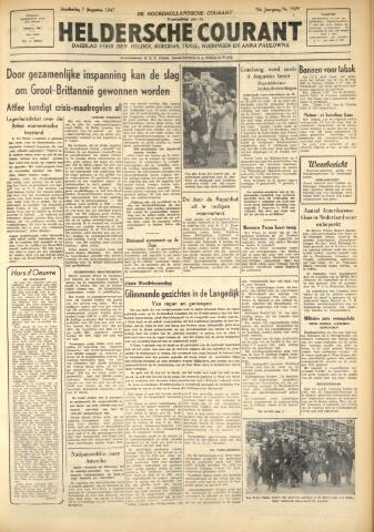 Heldersche Courant 1947-08-07