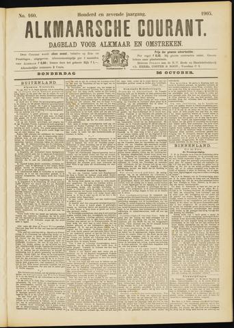 Alkmaarsche Courant 1905-10-26