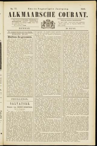 Alkmaarsche Courant 1889-06-30