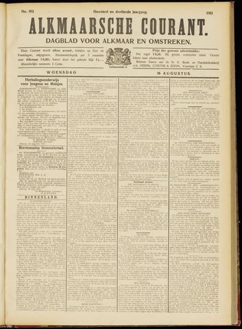 Alkmaarsche Courant 1911-08-16