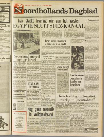 Noordhollands Dagblad : dagblad voor Alkmaar en omgeving 1967-06-06