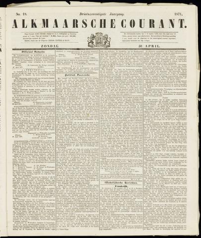 Alkmaarsche Courant 1871-04-30