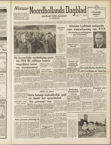 Nieuw Noordhollandsch Dagblad : voor Alkmaar en omgeving 1951-07-04