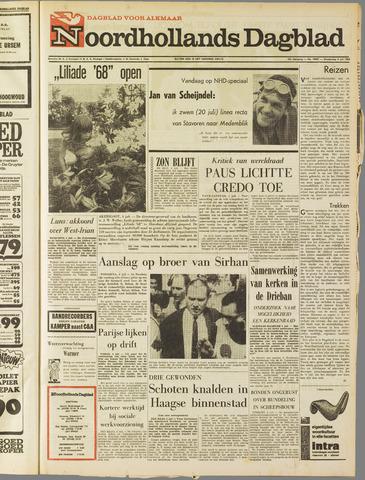 Noordhollands Dagblad : dagblad voor Alkmaar en omgeving 1968-07-04