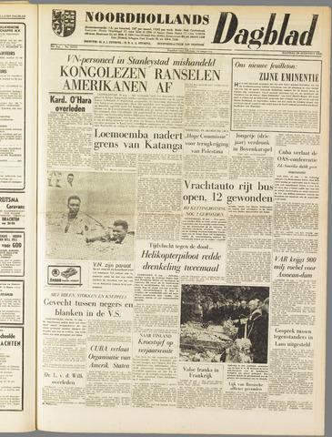 Noordhollands Dagblad : dagblad voor Alkmaar en omgeving 1960-08-29