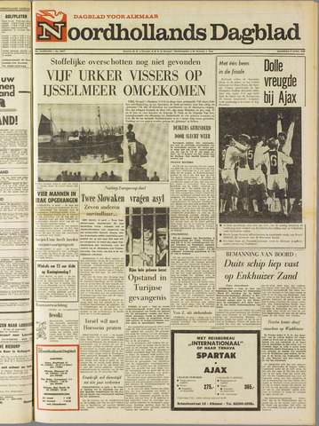 Noordhollands Dagblad : dagblad voor Alkmaar en omgeving 1969-04-14