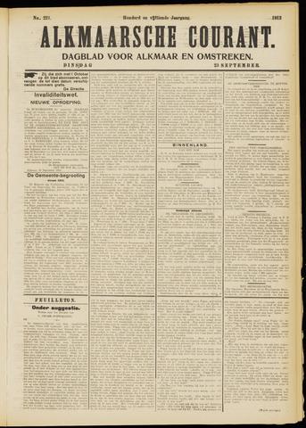 Alkmaarsche Courant 1913-09-23