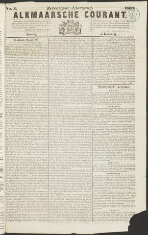 Alkmaarsche Courant 1868-01-05