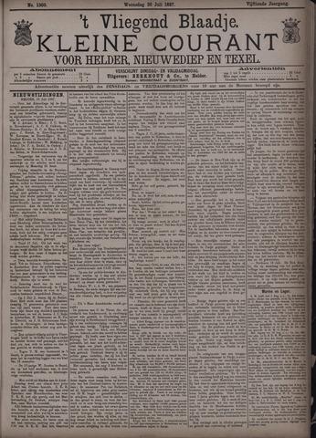 Vliegend blaadje : nieuws- en advertentiebode voor Den Helder 1887-07-20