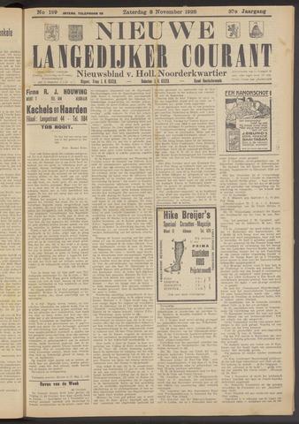 Nieuwe Langedijker Courant 1928-11-03