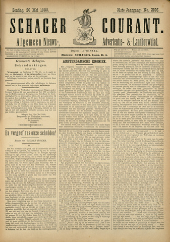 Schager Courant 1888-05-20