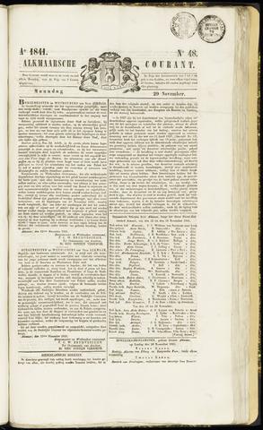 Alkmaarsche Courant 1841-11-29