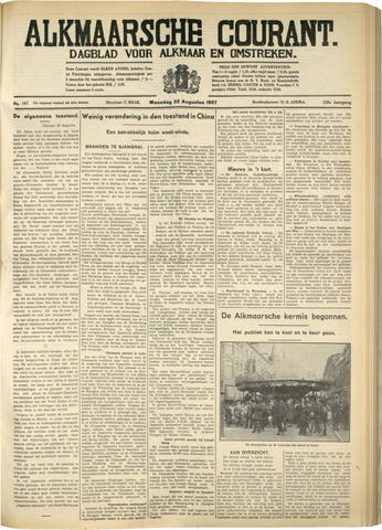 Alkmaarsche Courant 1937-08-22