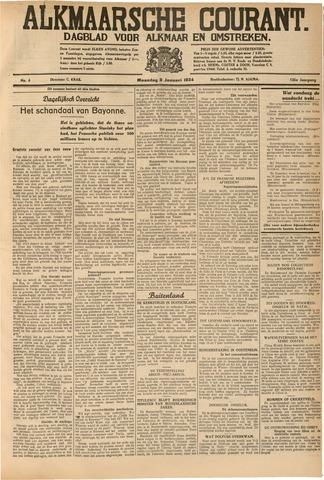 Alkmaarsche Courant 1934-01-08