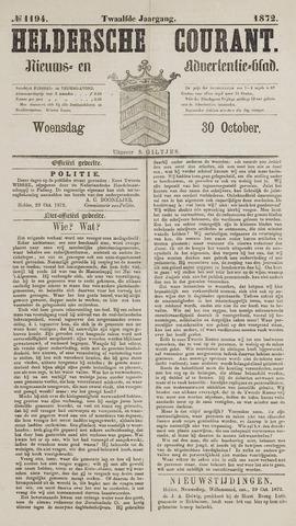 Heldersche Courant 1872-10-30