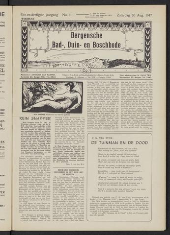 Bergensche bad-, duin- en boschbode 1947-08-30