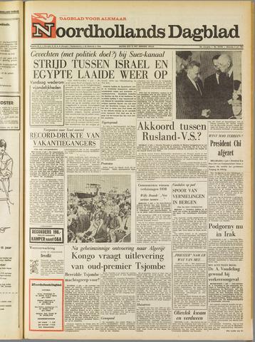 Noordhollands Dagblad : dagblad voor Alkmaar en omgeving 1967-07-03