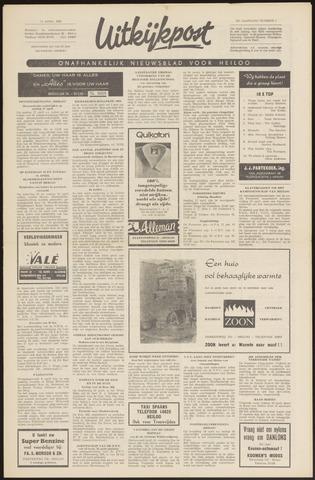 Uitkijkpost : nieuwsblad voor Heiloo e.o. 1966-04-14