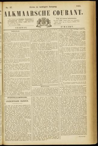 Alkmaarsche Courant 1885-03-27