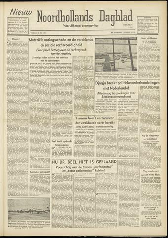Nieuw Noordhollandsch Dagblad : voor Alkmaar en omgeving 1948-07-23
