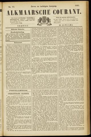 Alkmaarsche Courant 1885-01-30