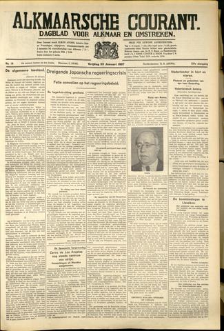 Alkmaarsche Courant 1937-01-22