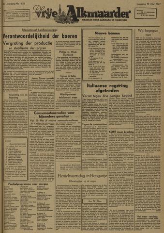 De Vrije Alkmaarder 1947-05-14