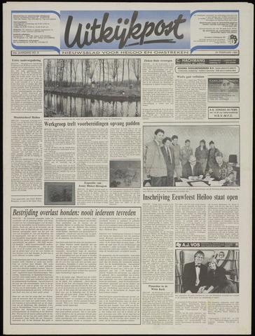 Uitkijkpost : nieuwsblad voor Heiloo e.o. 1993-02-24