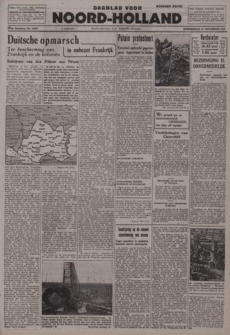 Dagblad Noord-Holland, Schager editie 1942-11-12