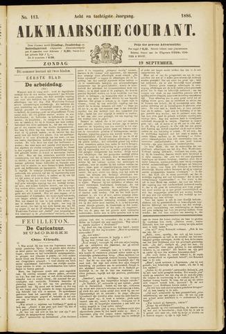 Alkmaarsche Courant 1886-09-19