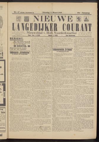 Nieuwe Langedijker Courant 1929-03-05