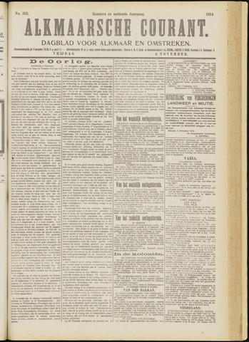 Alkmaarsche Courant 1914-11-06
