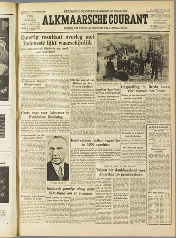 Alkmaarsche Courant 1955-12-03