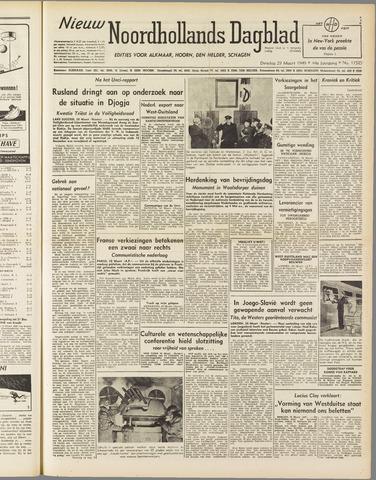 Nieuw Noordhollandsch Dagblad : voor Alkmaar en omgeving 1949-03-29