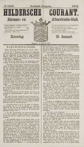 Heldersche Courant 1873-01-25