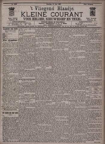Vliegend blaadje : nieuws- en advertentiebode voor Den Helder 1897-06-12
