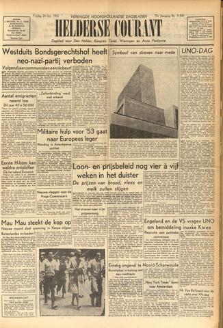 Heldersche Courant 1952-10-24
