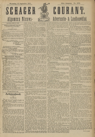 Schager Courant 1911-09-13