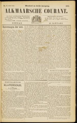 Alkmaarsche Courant 1901-01-13