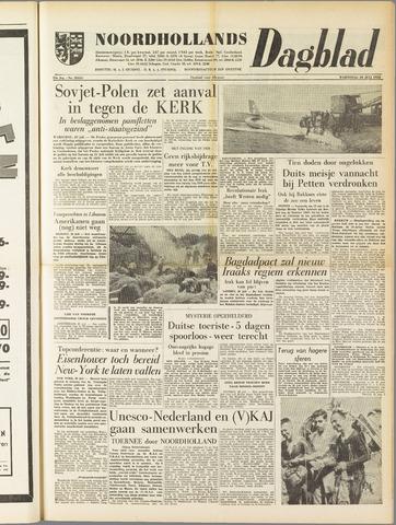 Noordhollands Dagblad : dagblad voor Alkmaar en omgeving 1958-07-30