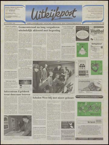 Uitkijkpost : nieuwsblad voor Heiloo e.o. 1999-11-10