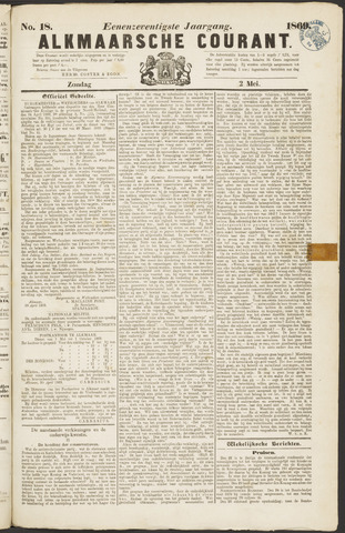 Alkmaarsche Courant 1869-05-02