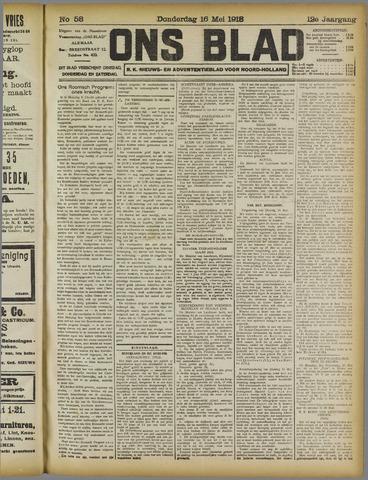 Ons Blad : katholiek nieuwsblad voor N-H 1918-05-16