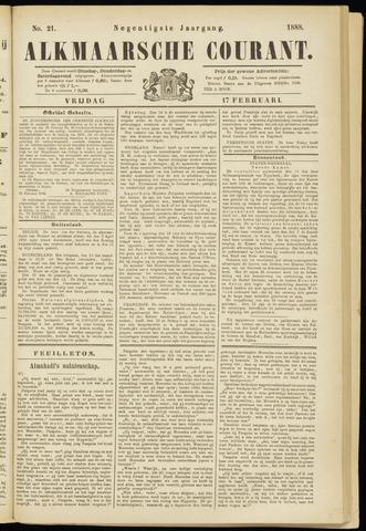 Alkmaarsche Courant 1888-02-17