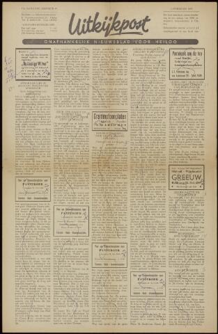 Uitkijkpost : nieuwsblad voor Heiloo e.o. 1958-02-07